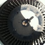 dirty ac blower wheel 1