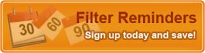 air filter reminder
