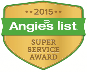 Freedom Heating and Cooling 2015 Angie's List Super Service Award Birmingham AL