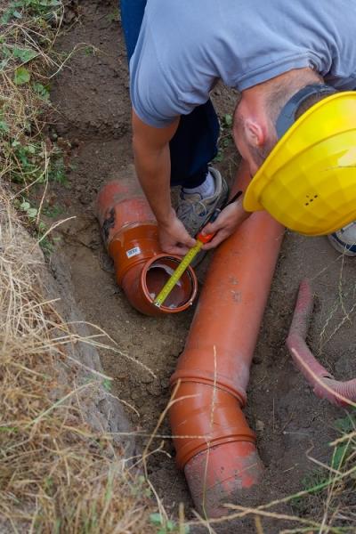 Sewer repair near Birmingham